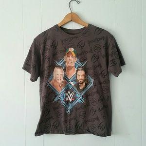 Wrestling Tshirt Tee Wwe wwf brock Lesnar cena rr